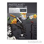 Clairefontaine Pastelmat - Anthrazit, 24 x 30 cm