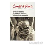 Conte gepresste Zeichenkohle - 12er Set, sortiert