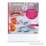 Creaflexx Folie - Transparent, Dicke 0,5 mm 44,5 x 60 cm