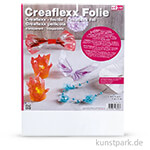 Creaflexx Folie - Transparent, Dicke 0,5 mm
