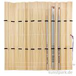 da Vinci 4er Pinsel-Set Öl, in Bambusmatte
