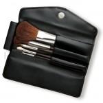da Vinci BASIC SET mit 5 Pinseln im modernen Soft-Kunstleder-Etui