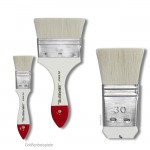 da Vinci Serie 553 - Seidenmalpinsel breit weiße Ziegenhaare