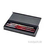 da Vinci - SPIN Aquarellpinselset in Geschenkbox mit drei Pinseln