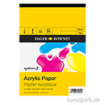 Daler-Rowney System 3 Acrylblock, 20 Blatt, 230g DIN A2