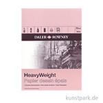 Daler-Rowney Zeichenblock HEAVY, 25 Blatt, 220g