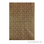 DECOPATCH Texturpapier 779 - Gold Konfetti-Metallic