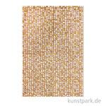 DECOPATCH Texturpapier 787 - Braune Herzen