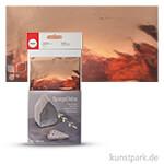Decor-Metallic-Folie 20 x 30 cm   Messing