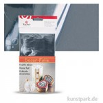 Decor-Metallic-Folie 20 x 30 cm   Silber