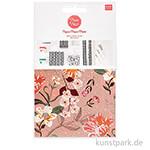 Decoupage Papier - Nature Matters Blumen, 3 Stück