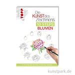 Die Kunst des Zeichnens 10 Steps - Blumen, TOPP