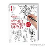Die Kunst des Zeichnens - Mythen, Drachen, Fantasie, TOPP
