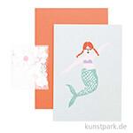 DIY Card - Mermaid, Meerjungfrauen