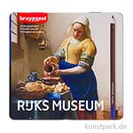 Dutch Masters Box - Das Milchmädchen, 24 Buntstifte Metall Etui
