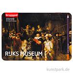 Dutch Masters Box - Die Nachtwache, 50 Buntstifte Metall Etui