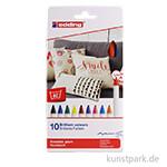 edding 4600 Textil-Pen Set mit 10 Farben