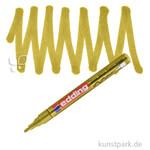 edding 751 Lack Marker Einzelfarbe | 053 Gold
