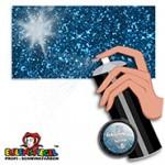 Eulenspiegel Glitzer-Effekt Haarspray 125 ml Dose   Glitzer Blau