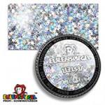 Eulenspiegel Holographischer Glitzer 6 g Dose | Silber-Sterne