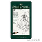 Faber-Castell 9000 - Set mit 12 Bleistiften ART