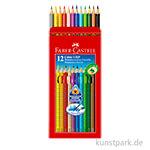 Faber-Castell Buntstift COLOUR GRIP - 12er Etui