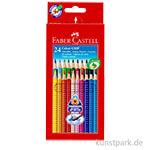 Faber-Castell Buntstift COLOUR GRIP - 24er Etui