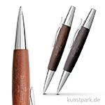 Faber Castell E-MOTION Drehkugelschreiber Birnbaum Dunkelbraun