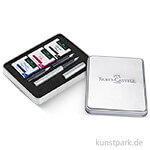 Faber-Castell Grip 2011 - Kalligrafie Set Silber