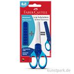 Faber-Castell Grip - Schulschere Blau