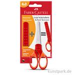 Faber-Castell Grip - Schulschere Rot