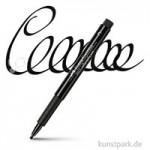 Faber-Castell PITT artist pen Calligraphy Einzelfarbe | 199 Schwarz