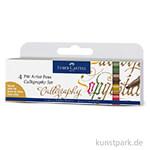 Faber-Castell PITT artist pen Calligraphy - 4er Set Colours