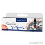 Faber-Castell PITT artist pen Calligraphy - 4er Set Essential