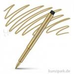 Faber-Castell PITT artist pen metallic Einzelfarbe | 250 Gold