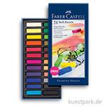Faber Castell Softpastellkreiden Mini - 24er Studio-Set