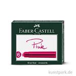 Faber Castell Tintenpatronen Standard 6 Stück Pink
