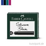 Faber Castell Tintenpatronen Standard 6 Stück