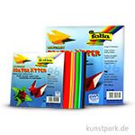 Faltblätter aus Origamipapier, 96 Blatt, 80g - farbig sortiert 13x13 cm