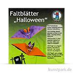 Faltblätter Halloween, 15x15 cm, 120 Blatt, 80g