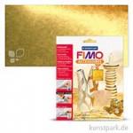 FIMO Blattmetall, 10 Blatt, 14x14 cm Gold