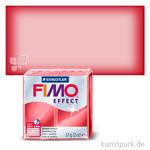 FIMO Transluzentfarben Effekt 57 g | Rot transparent