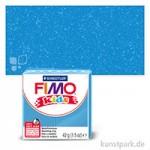 FIMO Kids Einzelfarben 42 g | Blau glitter