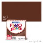 FIMO Kids Einzelfarben 42 g | Braun