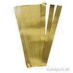 Flechtstreifen - gold 15 mm - 100 Stück