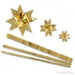 Flechtstreifen - gold 10 mm - 100 Stück