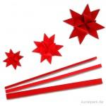 Flechtstreifen - rot 25 mm - 100 Stück
