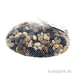 Flusskiesel Mittel-Braun, 1 kg