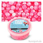 Foam Clay - Modelliermasse mit kleinen Perlen 35 g | Neon-Pink