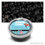 Foam Clay - Modelliermasse mit kleinen Perlen 35 g | Schwarz